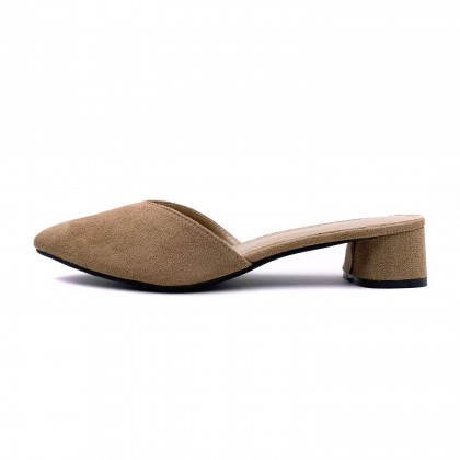 VERN'S XL Low Heel Mule Sandals - S30004010