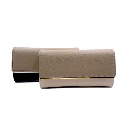 VERN'S Front Flap Long Wallet - B01039810