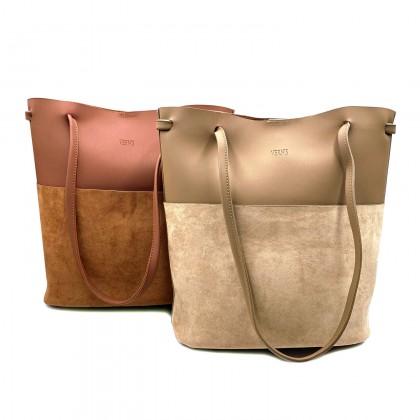 VERN'S Double Handle Tote Bag - B03038310