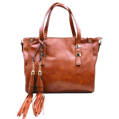 VERN'S Classic Handle Bag - B03037510