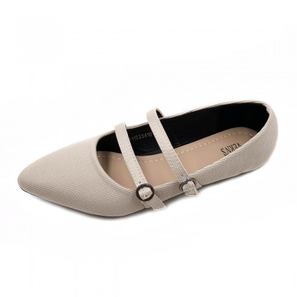 VERN'S Pointed Toe Flat Pumps - S11033410