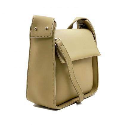 VERN'S Casual Plain Crossbody Sling Bag - B02039110