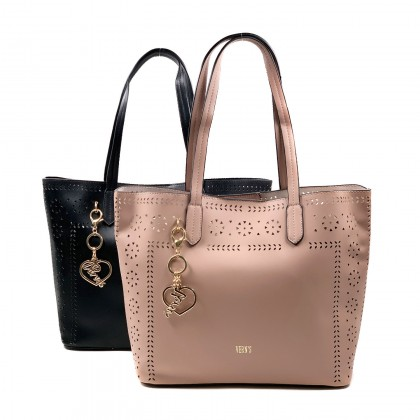 VERN'S Ladies Tote Shoulder Bag - B03038910